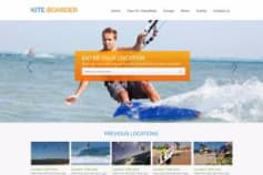 Kiteboard webportal