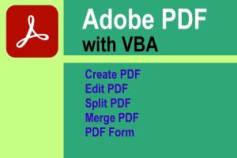 PDF Programming- with VBA
