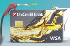 UniCredit Bank Oil Card 3d Animation