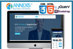 annexis.net front end development