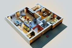 3D Plan Views