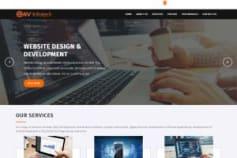 Web designing & development site