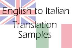 Translation Samples