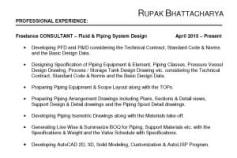 Rupak\u0027s Experience Details