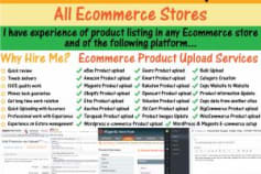 Ecommerce Product Upload Specialist