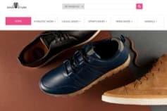 Magento Template - Shoe store