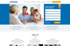 Fintrack Financial Wordpress Website