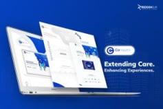 Health-Tech startup website redesign