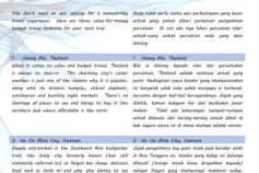 Translation English-Malay for Tourism Article