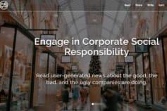 Social Media Platform aimed at CSR