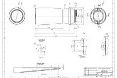 Technical Drawing for Prototype/Production