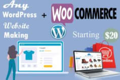 woocommerce website and fixed errors
