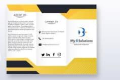 Tri Fold Flyer - Graphic Design