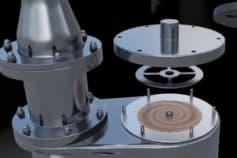 3D Animation industrial Gas Compressor