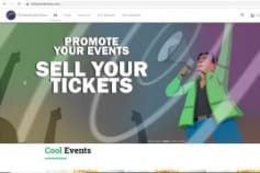 Tickets and Event System (For Web and Mobile)