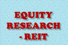 Equity Research- REIT
