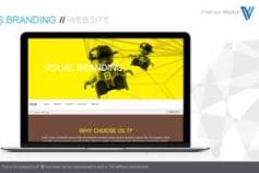 A Branding Agency Startup Web