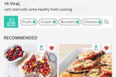Fooduction: User App