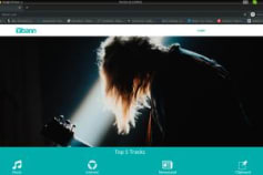 Music Website(PHP,Laravel,Angular,MySQL)