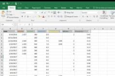 Microsoft Excel Data Transformation