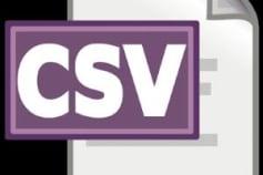 Making CSV file.
