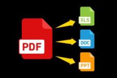 Convert PDF to Any Files