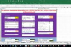 BOT Financial Model - 6 Lane HighWay