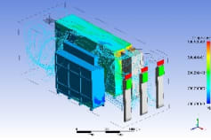Thermal Analysis of Electrical component in a container