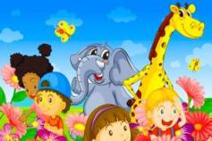 I Will Do Create Children Book Illustration For You
