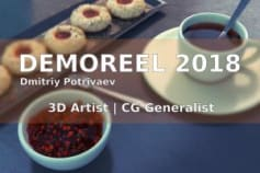 Personal demoreel of the best 3D works for 2018