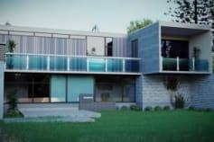 3d Floorplan 3d Exterior Architecture Rendering