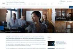 Intranet Portal in Modern SharePoint UI