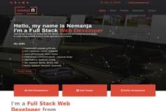 NemanjaN - personal wordpress website