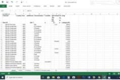 Data Entry to Excel