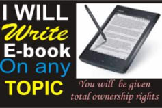 E-book Writing