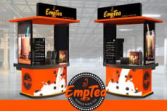 Kiosk, Food Cart Design
