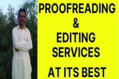 Proofreading \u0026 Editing