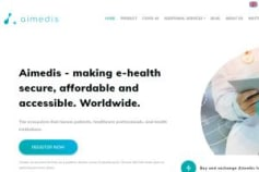 Aimedis Whitepaper Writing & Design