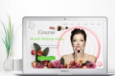 Makeup Course Website Development