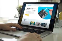iRepair Website Redesign