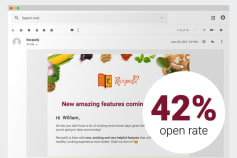 Email Marketing for RecipeIQ