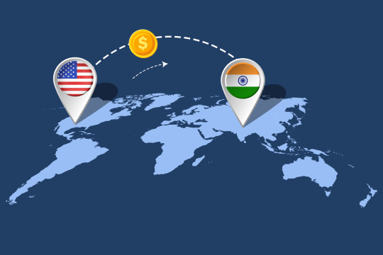 How to Send Money to India from the USA