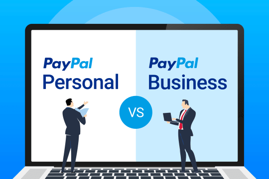 PayPal Personal vs. Business