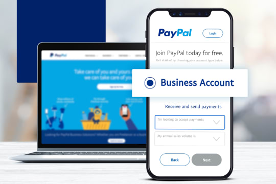 Set Up a PayPal Business Account