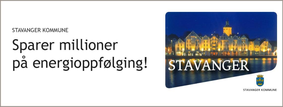 Stavanger kommune reduserer energiforbruket med Gurusoft EOS.