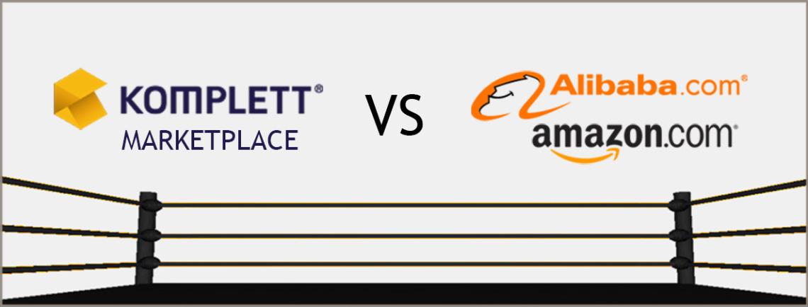 Komplett markedsplass ruster seg opp for konkurransen fra Amazon og Alibaba.