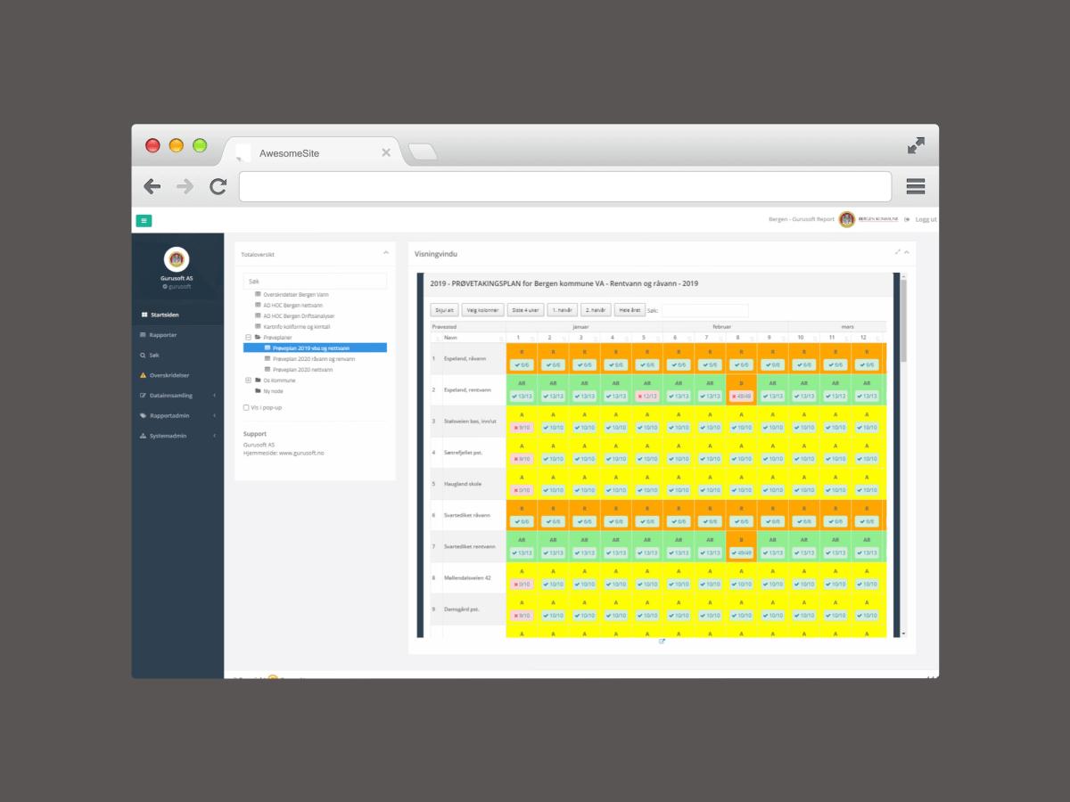 En hjelpsom database