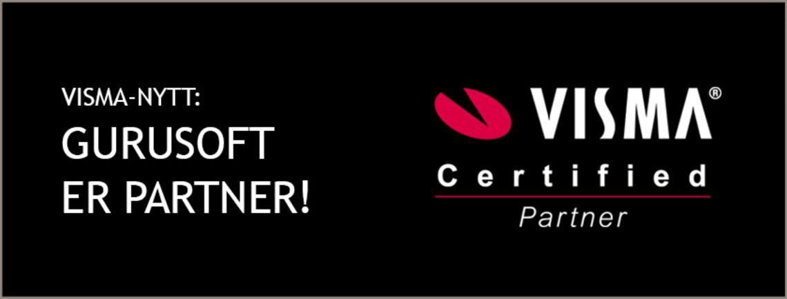 Gurusoft er Visma Certified Partner