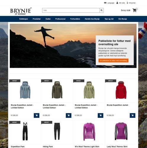 BRYNJE OF NORWAY