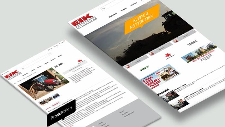 En hjelpsom og kundetilpasset nettside